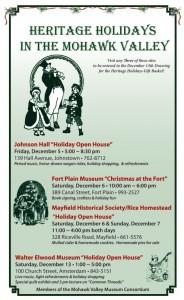 Heritage Holidays 2014