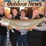 Dubuc Family with Northern Pike Replica