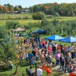 Fulton County Day on the Farm 2014 at Rogers Family Orchard