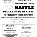 TICKETS ON SALE FOR 22ND ANNUAL $10,000 BET ON FULTON COUNTY RAFFLE