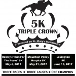 TRIPLE CROWN 5K RACE SERIES KICKS OFF MAY 6th