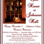 HOLIDAY OPEN HOUSE AT JOHNSON HALL STATE HISTORIC SITE