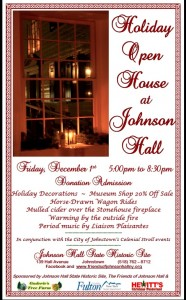 johnson hall 2017 holiday