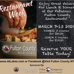 1st Annual Fulton County Restaurant Week March 7th-13th