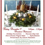 Holiday Open House at Johnson Hall