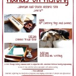 Hands-On History Day at Johnson Hall