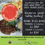 Fulton County 2021 Restaurant Week! Save the Date!